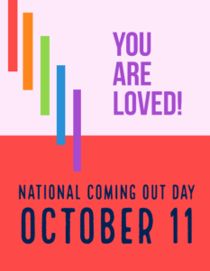 National Coming Out Day, October 11