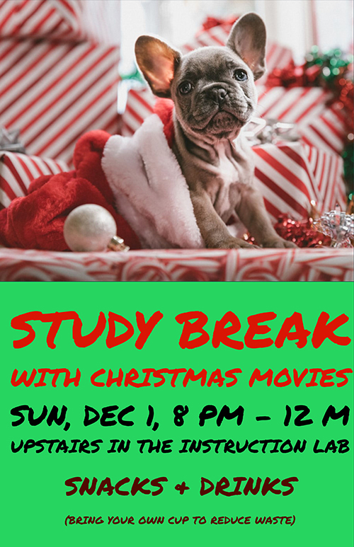 Movie Marathon Study Break
