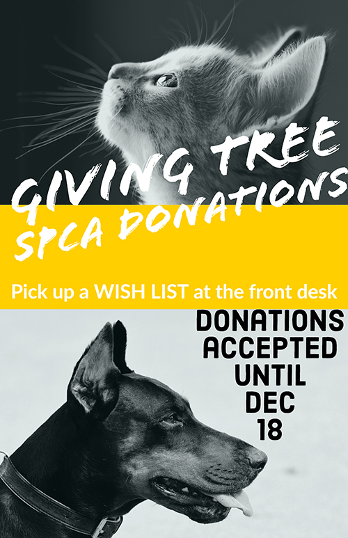Giving Tree SPCA Donations