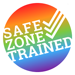Safe Zone Trained sticker
